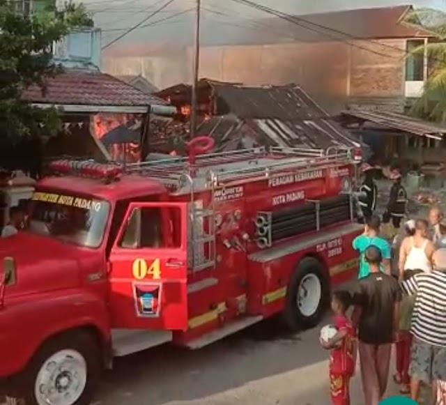 Sijago Merah MARABO,Satu Rumah Terbakar