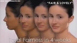 Skin Color fair & Lovely ad