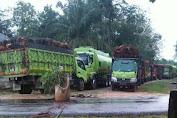 Perusahaan Ingkar Janji, Warga Dua Desa Blokir Jalan di Desa Betung Bedarah Timur
