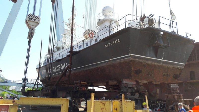 корабль морської охорони BG57 «Миколаїв»