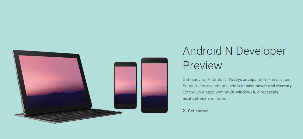 Google Released : First Preview of Android N: Developer APIs & Tools