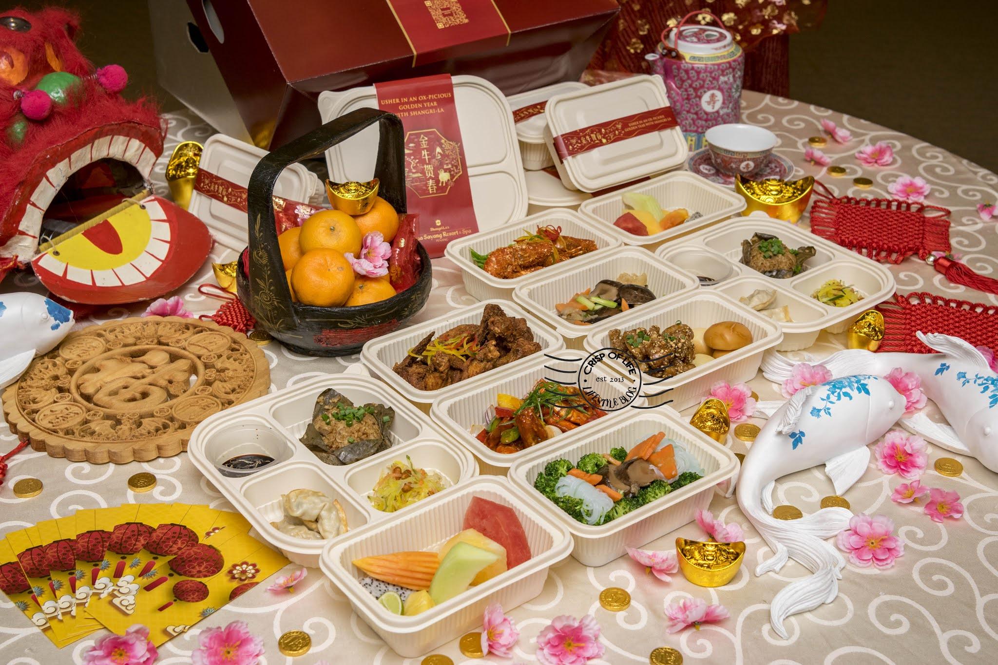 Pop-Up Stalls and Chinese New Year Ox-Picious Set Menu @ Shangri-La's Rasa Sayang Resort & Spa, Penang