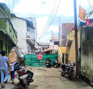 शंकरनगर वार्ड में निवास करने वाले पति पत्नी कोरोना पॉजिटिव पाए गए