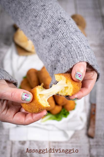 Crocchè di patate napoletani o panzarotti