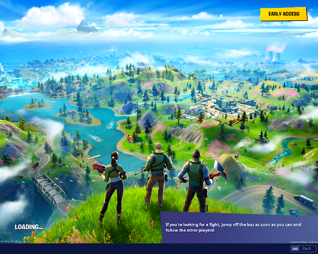 Search hidden 'F' found in the new World Loading Screen