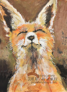 The Happy Fox OOAK Artisan Showcase Roberta Laliberte