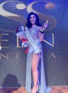 Đây là bức chân dung của Millen với các thí sinh lọt vào vòng chung kết Miss Queen khác cũng là người chuyển giới.