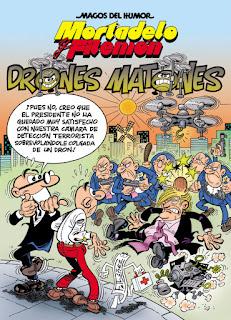 Mortadelo y Filemón. Drones matones