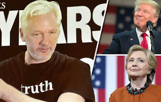 Julian Assange calls for Donald Trump Leaks After Claims Wikileaks Struck Hillary Clinton
