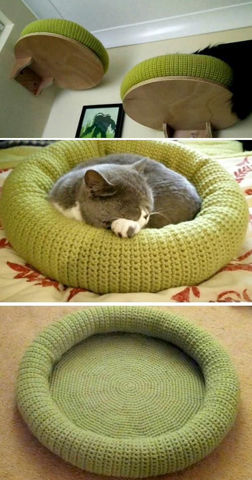 Cat Bed - Free Pattern