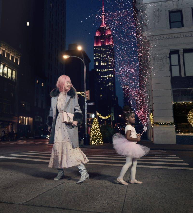 Kate Spade New York x Fernanda Ly for Holiday 2017 Ad Campaign