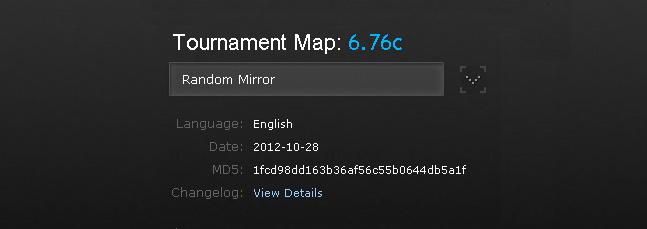 DotA official tournament map