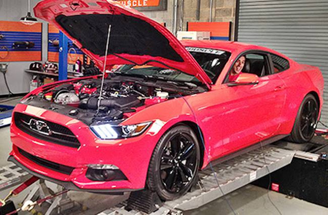 2017 Ford Mustang Ecoboost Dyno Tune