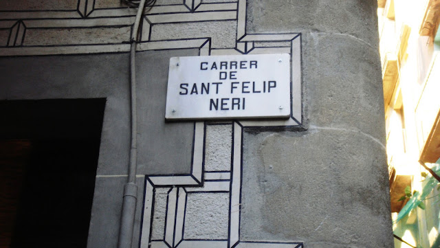 Carrer de Sant Felip Neri, Barcelona