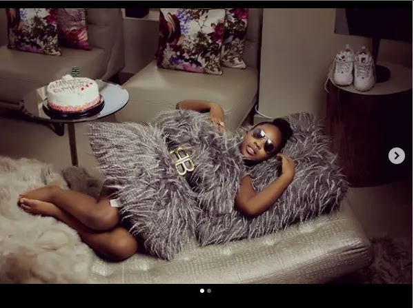 See how Timaya celebrates his first daughter's birthday