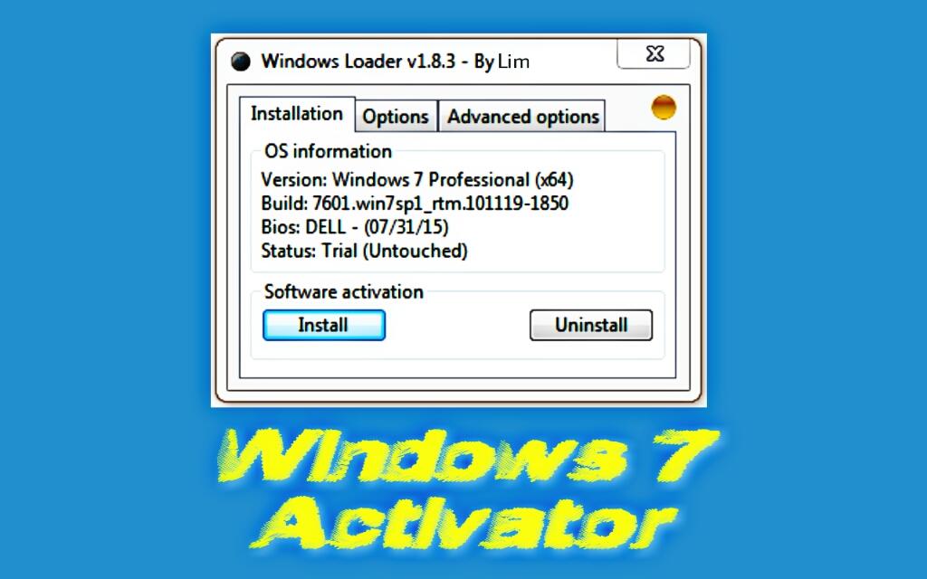 Free download windows 7 loader 32 bit