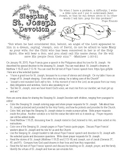 photo regarding Printable Prayer to St. Joseph titled Appear in direction of Him and be Radiant: Sleeping St. Joseph