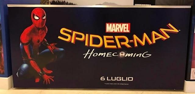 Cartel de Spider-Man: Homecoming en cine italiano
