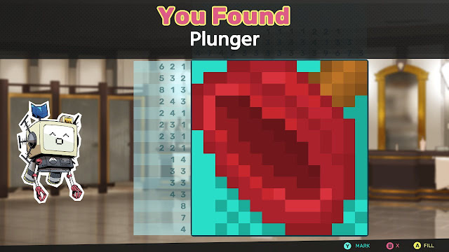 Murder by Numbers Plunger picross nonogram SCOUT's Memories