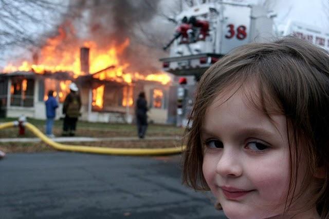 Disaster Girl | O meme vendido por quase meio milhão de dólares