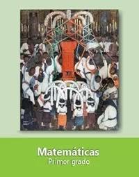 Libro de texto  Matemáticas Primer grado 2020-2021