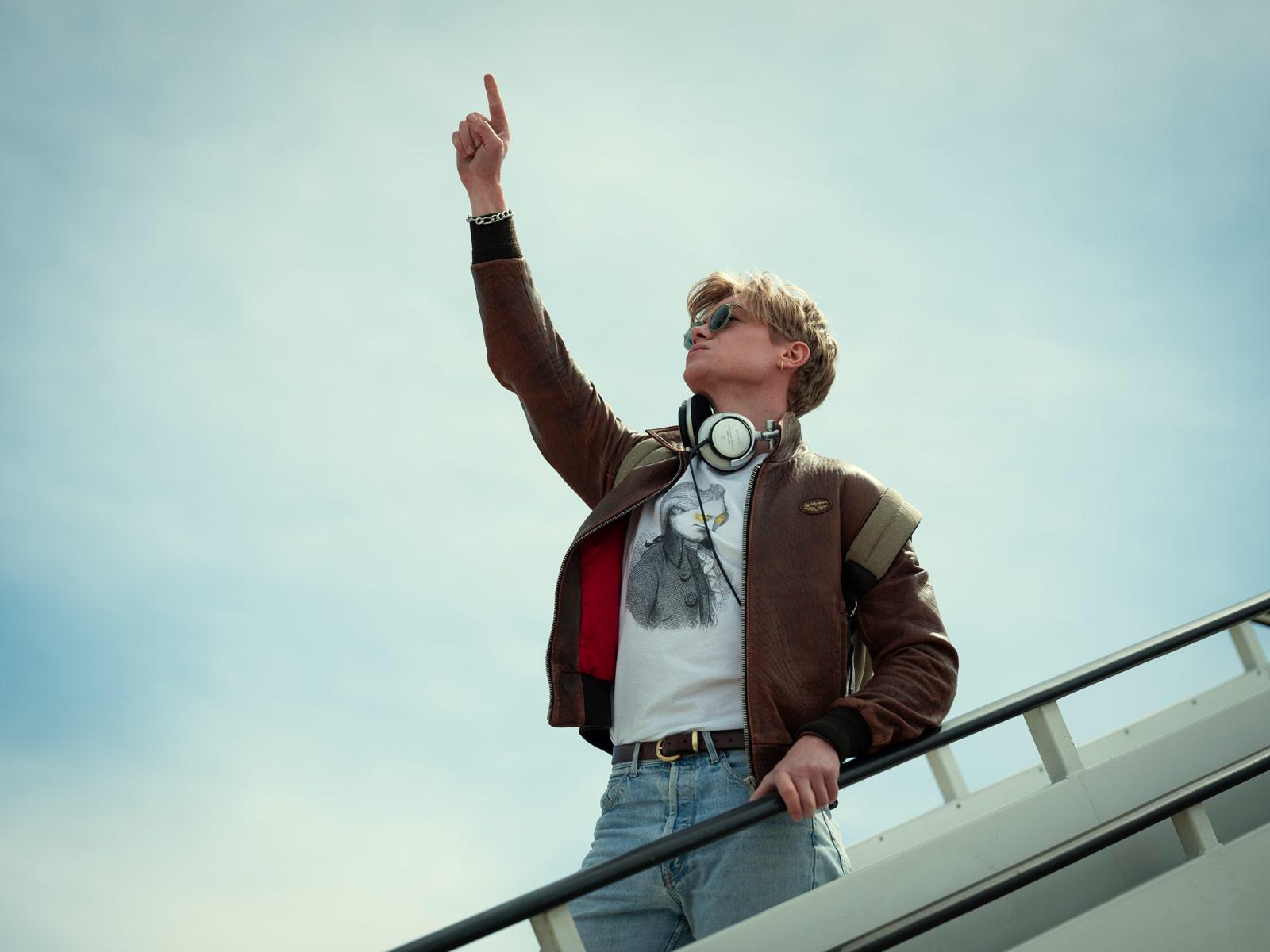 White Lines -  Netflix - Axel Walker (Tom Rhys Harries)