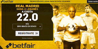betfair supercuota Real Madrid gana a Leganes 28 abril
