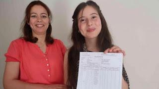 تلميذة مغربية تحصل على أعلى معدل للباكلوريا بفرنسا
