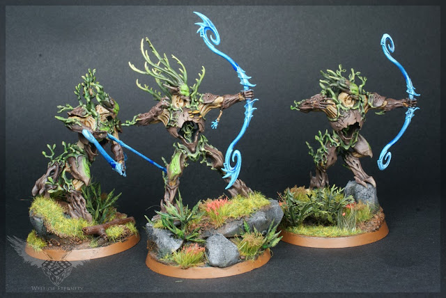 Warhammer Age of Sigmar Order Unit Sylvaneth Kurnoth Hunters with Greatbows magnetised 2