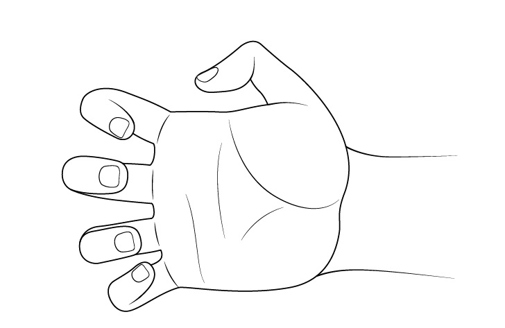 Gambar cakar tangan