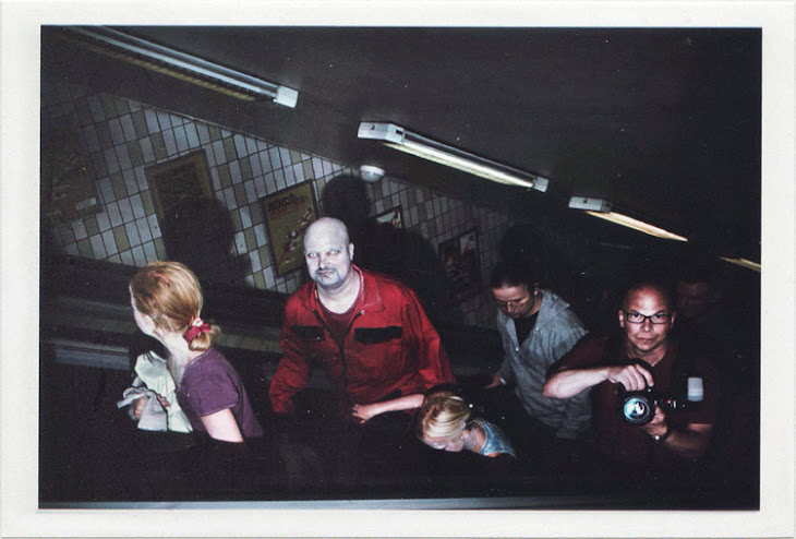 dirty photos - Once - street photo of zombies and kids in subway of stockholm