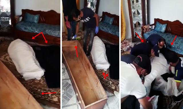 يحدث في تونس : بالفيديو ... فضيحة و كارثة كبيرة في حق الإنسانية من طرف بلدية المرسى ... وعائلة المتوفى بالكورونا توجه نداء إستغاثة