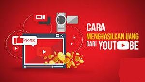 Cara Menghasilkan Uang dari Youtube - Di internet ini akan ada banyak sekali artikel yang menjanjikan cara menghasilkan uang melalui internet.