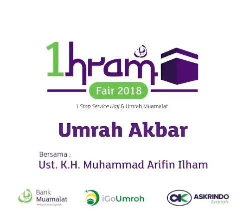 Bank Muamalat - Promo Event 1hram Fair 2018 di Atrium 2 Bekasi (16 - 18 Nov)
