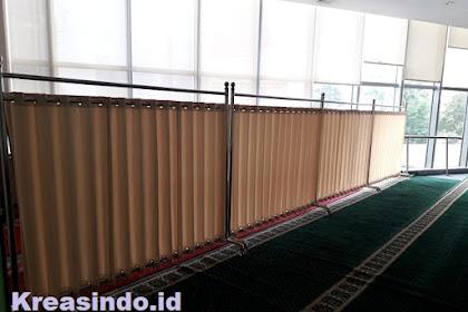 Hijab Masjid pesanan Menara Standard Chartered Pertamina di Semanggi Jakarta