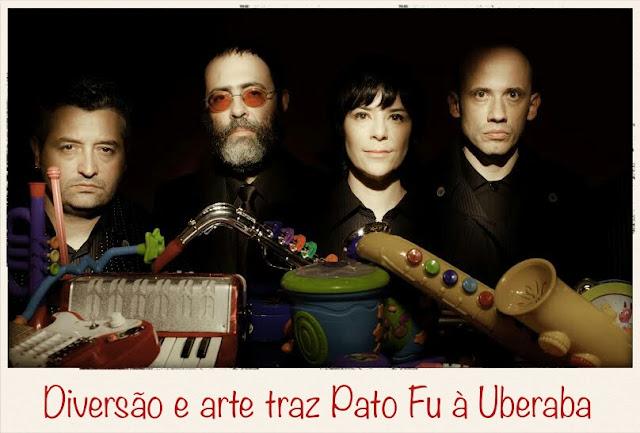 Show gratuito do Pato Fu em Uberaba