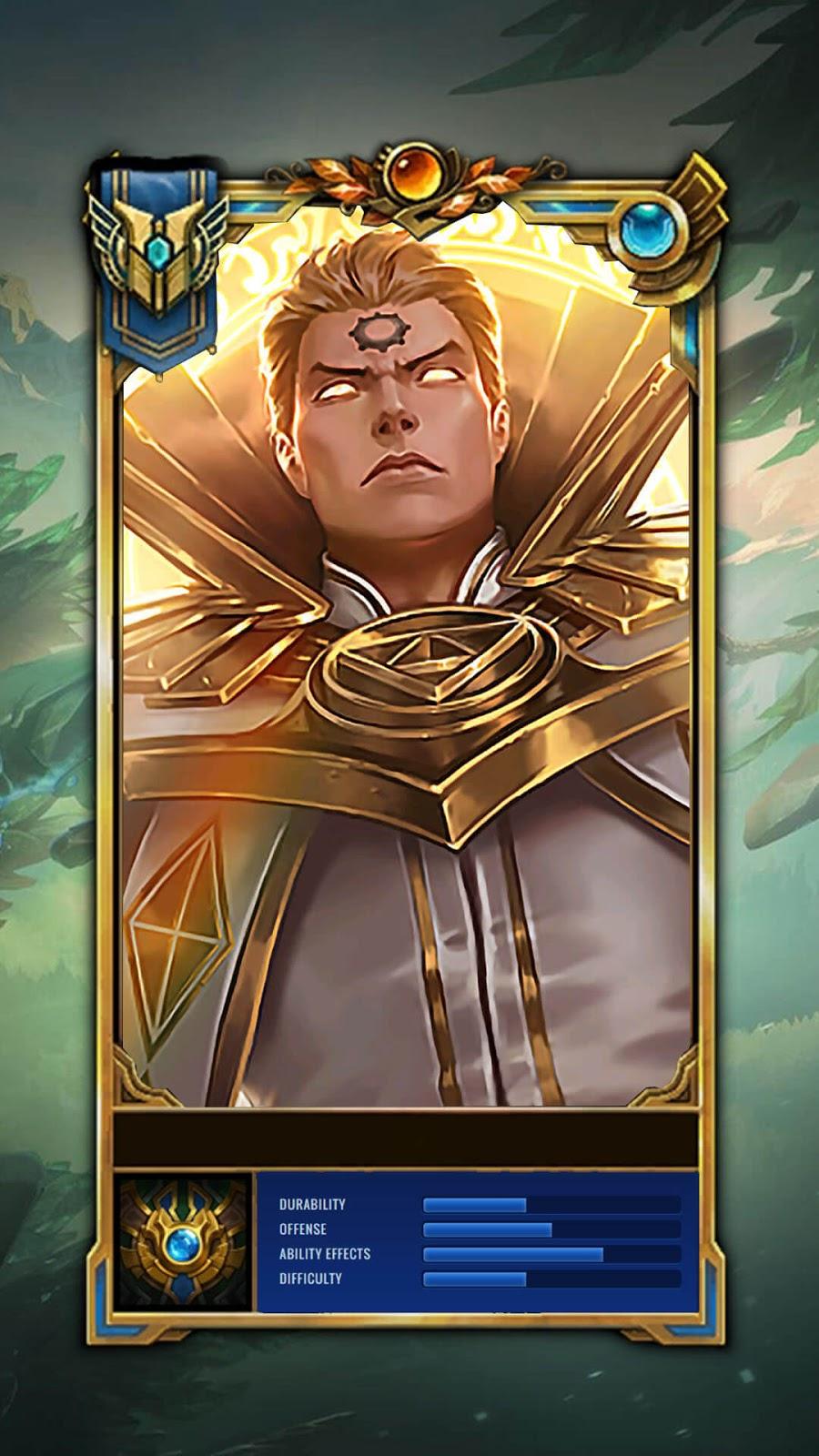 Wallpaper Estes Holy Priest Skin Mobile Legends HD for Mobile