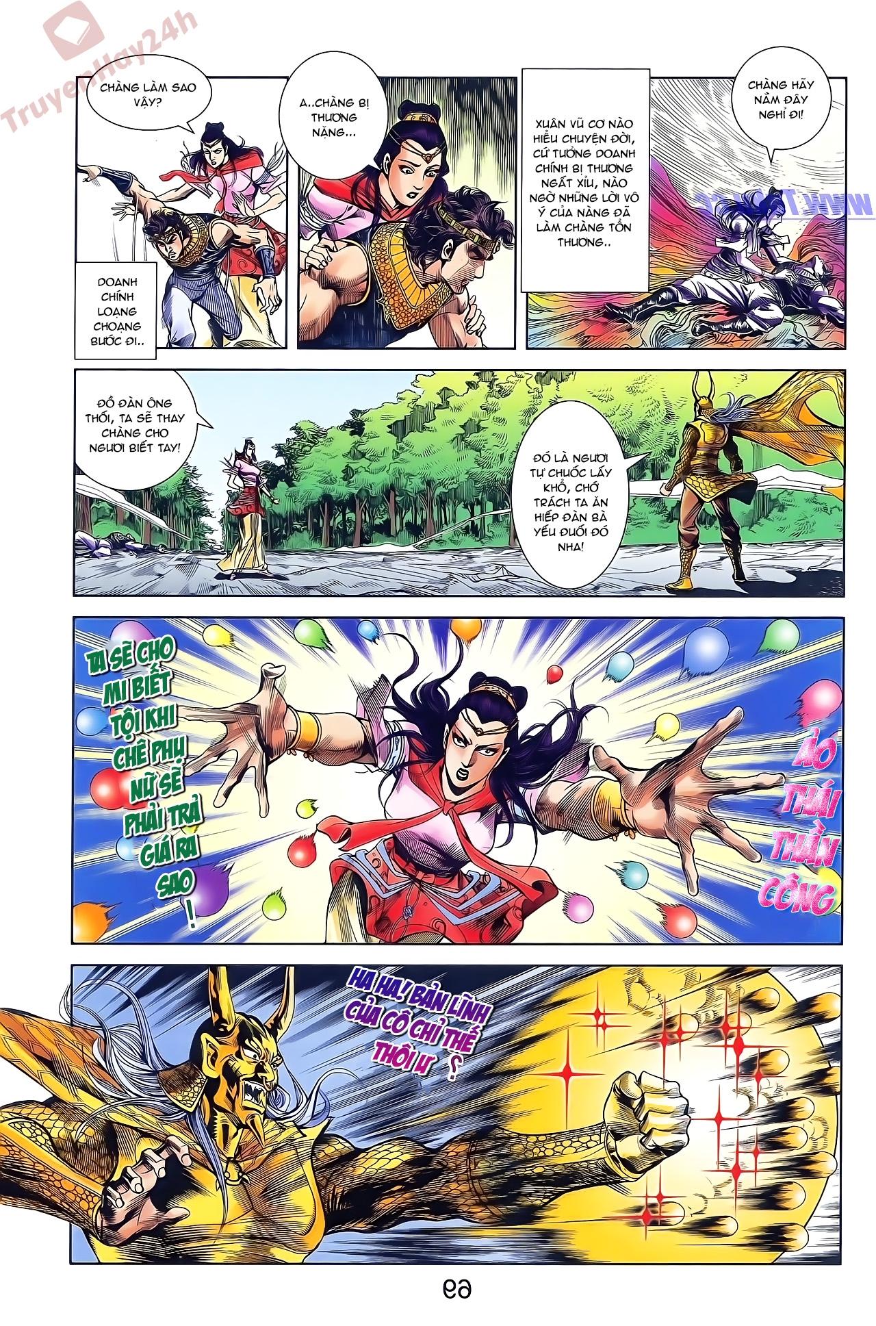 Tần Vương Doanh Chính chapter 49 trang 23