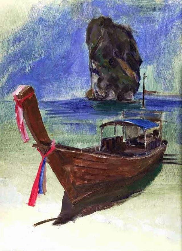 Традиционный художник. Vee Chayakul