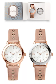 Stella & Dot Icon Watch - Rose Gold