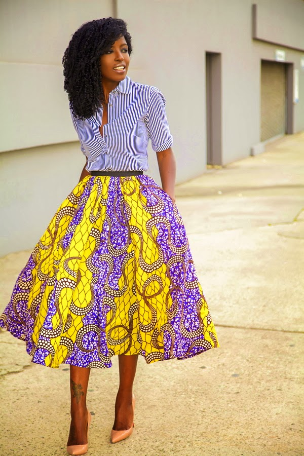 Kiki's Fashion: Style Pantry in African Attire