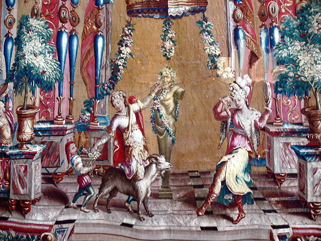 tapestry, beauvais tapestry, french tapestries, tapestry
