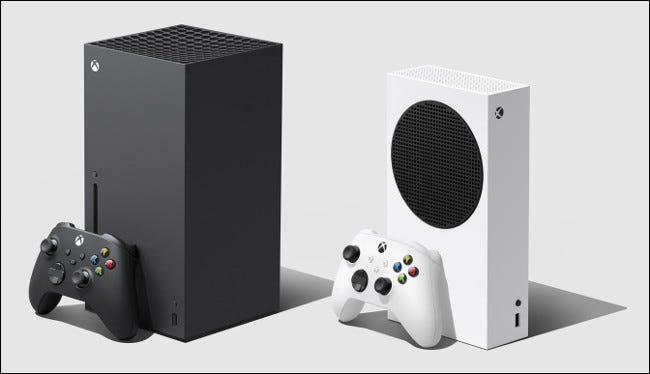 أجهزة Xbox Series X و Series S.