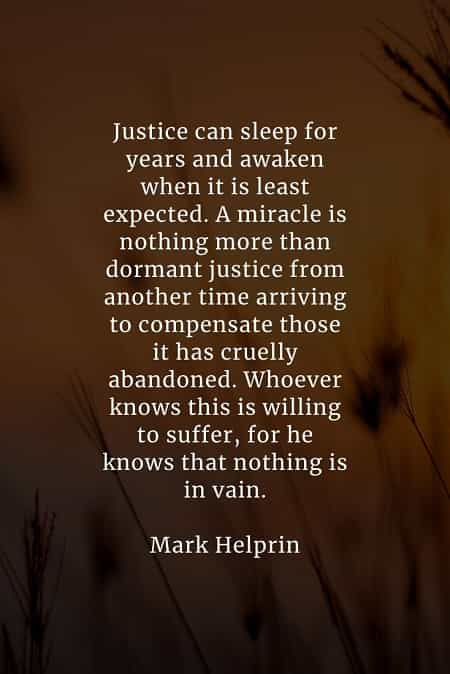 Justice quotes that'll tell you more about righteousness