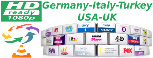 Turkey Show SKY Germany Kabel Italy Calcio USA UK - IPTV Links