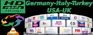 Turkey Show SKY Germany Kabel Italy Calcio USA UK