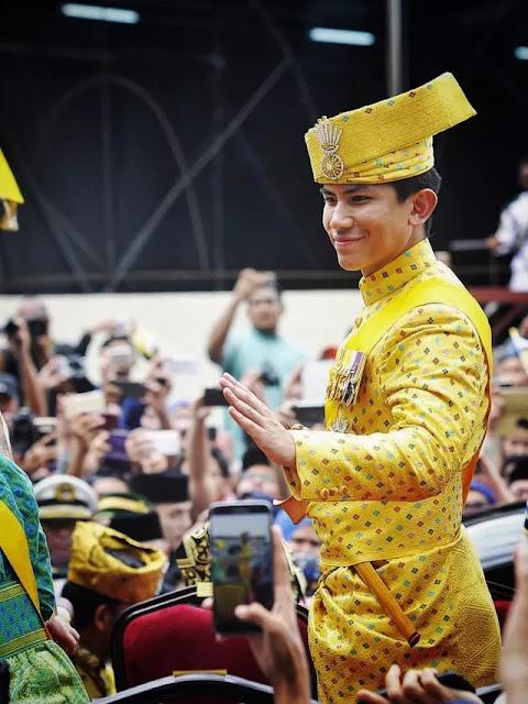 Viral Potret Pangeran Mateen Ganteng, Putra Sultan Brunei