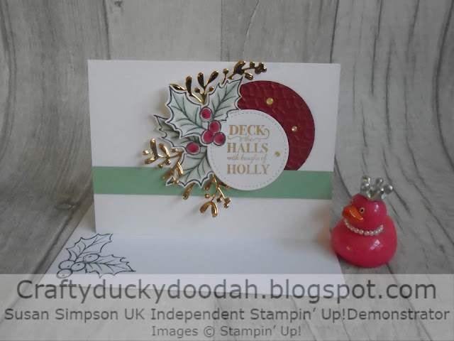 Craftyduckydoodah!, Christmas Gleaming, Susan Simpson UK Independent Stampin' Up! Demonstrator, Christmas 2019, Supplies available 24/7 from my online store,