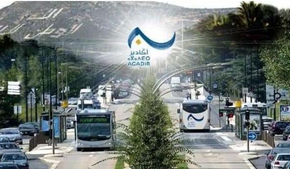 اكادير.. انطلاق أشغال تهيئة مسار الحافلات عالية الجودة BHNS