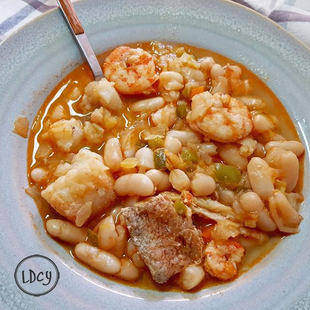 Alubias Marineras/ Marine Haricot Beans